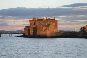 Blackness Castle, on the Firth of Forth